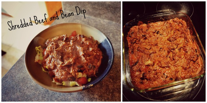 Shredded Beef and Bean Dip