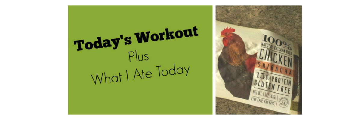 Today's Workout (Clutch Life Day 12) Plus What I Ate Today
