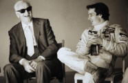 Enzo Ferrari and Gilles Villeneuve