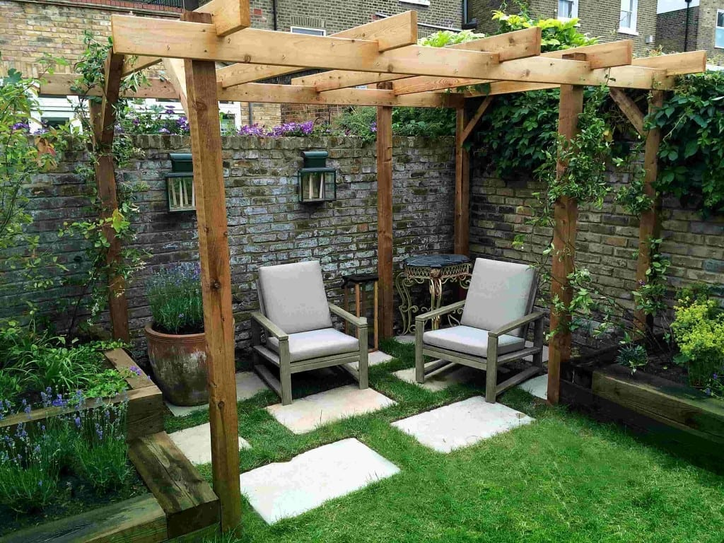 Pergolas Beams Living Color Gardens