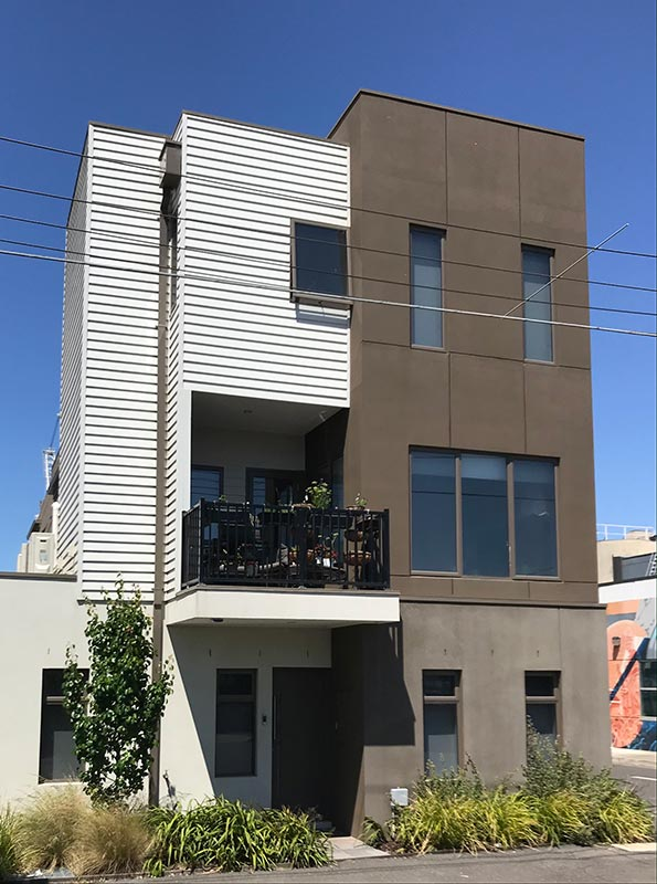 Byron Street, Footscray units by Living Colour Studio - architect, architectural services, home design, residential alterations, residential additions or residential developments in Gippsland and Melbourne.