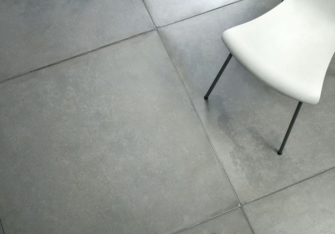 plain concrete tiles living concrete