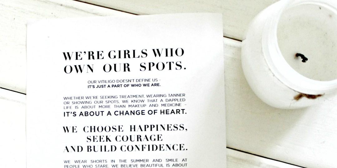 manifesto for a girl with vitiligo, girls with vitiligo