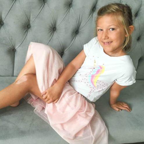 Meet Leah, age 8 from Kentucky