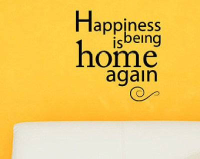 happiness home again