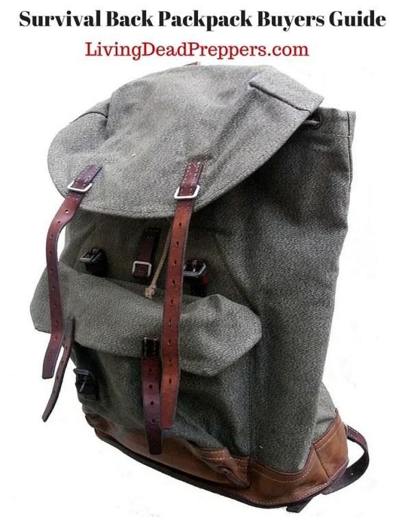 Survival Back Packpack Buyers Guide1