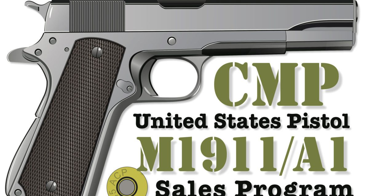 8,000 CMP M1911/A1 Available Via Government Auction