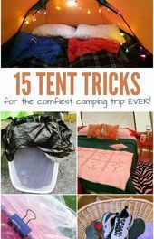15 Camping Hacks To Make Your Tents As Comfortable As Can Be