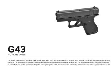 Is The Glock 43 The ultimate CCW Pistol?