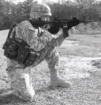 Kneeling Unsupported Shooting Position