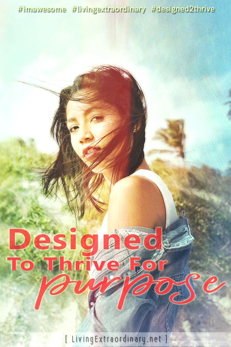 Designed to Thrive for Purpose - Are You Following the Original Plan for Your Life?