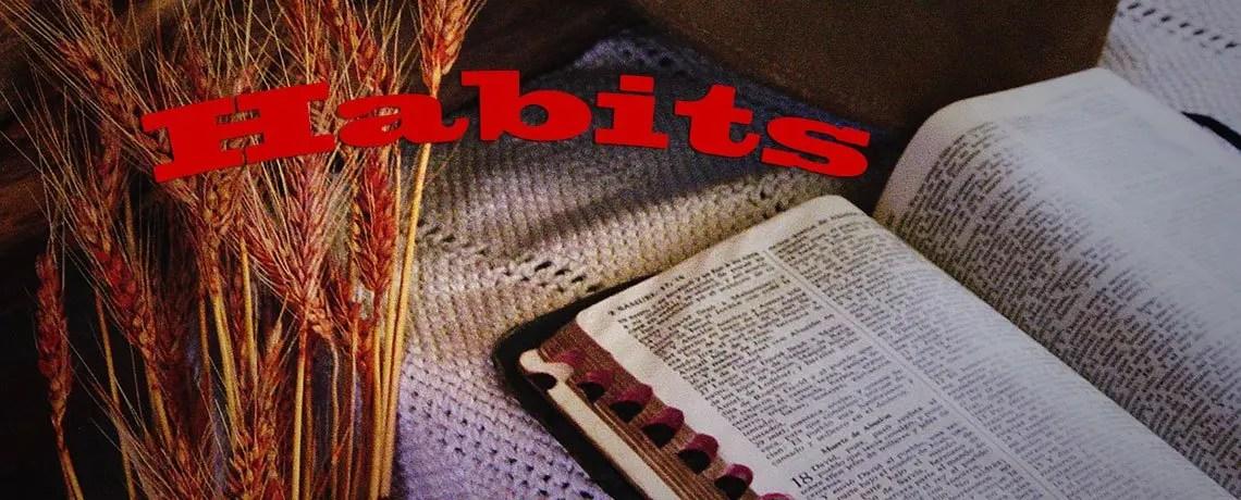 Habits Banner