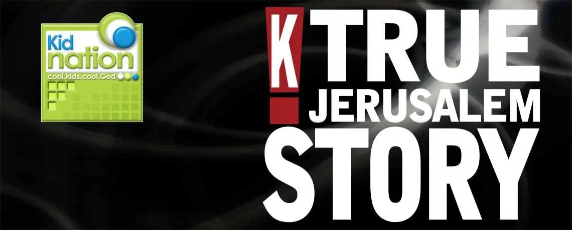 True Jerusalem Story Logo