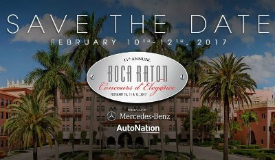 11th Annual Boca Raton Concours D' Elegance