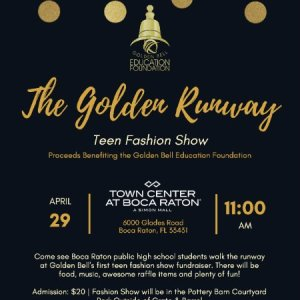 Golden Runway Teen Fashion Show