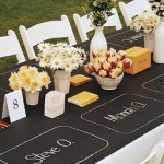 School yard and wedding bells ring