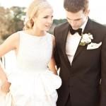 A wedding that glitters