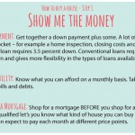 How to buy a house – Show me the Money