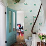 Wallpapered Entry