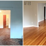 Before and After – Our little fixer upper