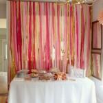 ombre pink bridal shower