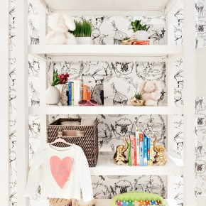 Decor Spotlight: Whimsical Animal Wallpaper