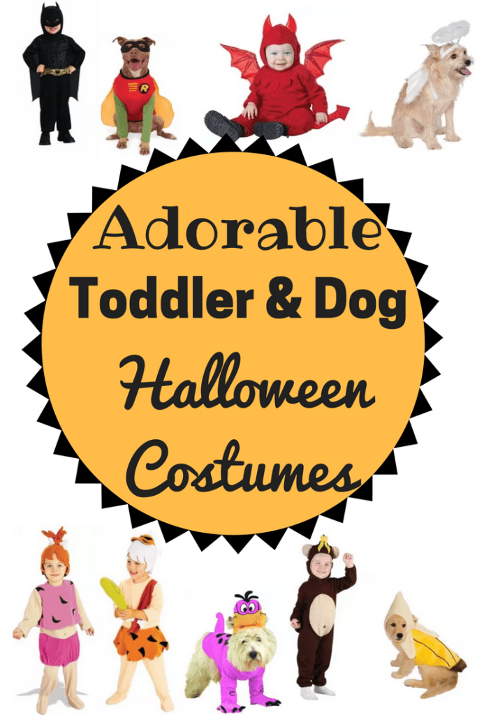 Awesome coordinating Halloween costumes for kids and dogs