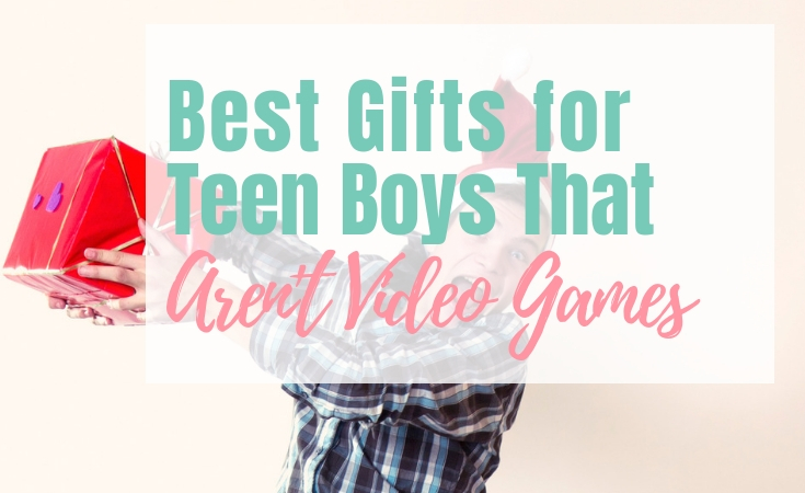 Great gifts for teen boys that aren't video games