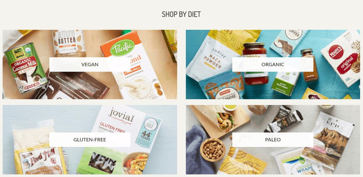 Thrive Market Shop By Diet
