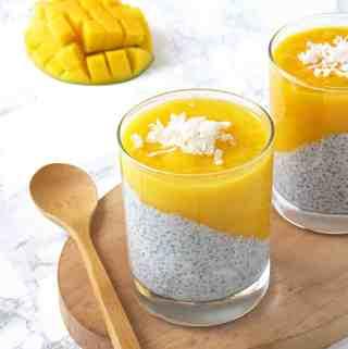 Mango Chia Pudding