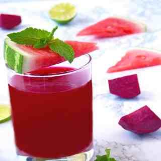 Watermelon Beet Energy Juice