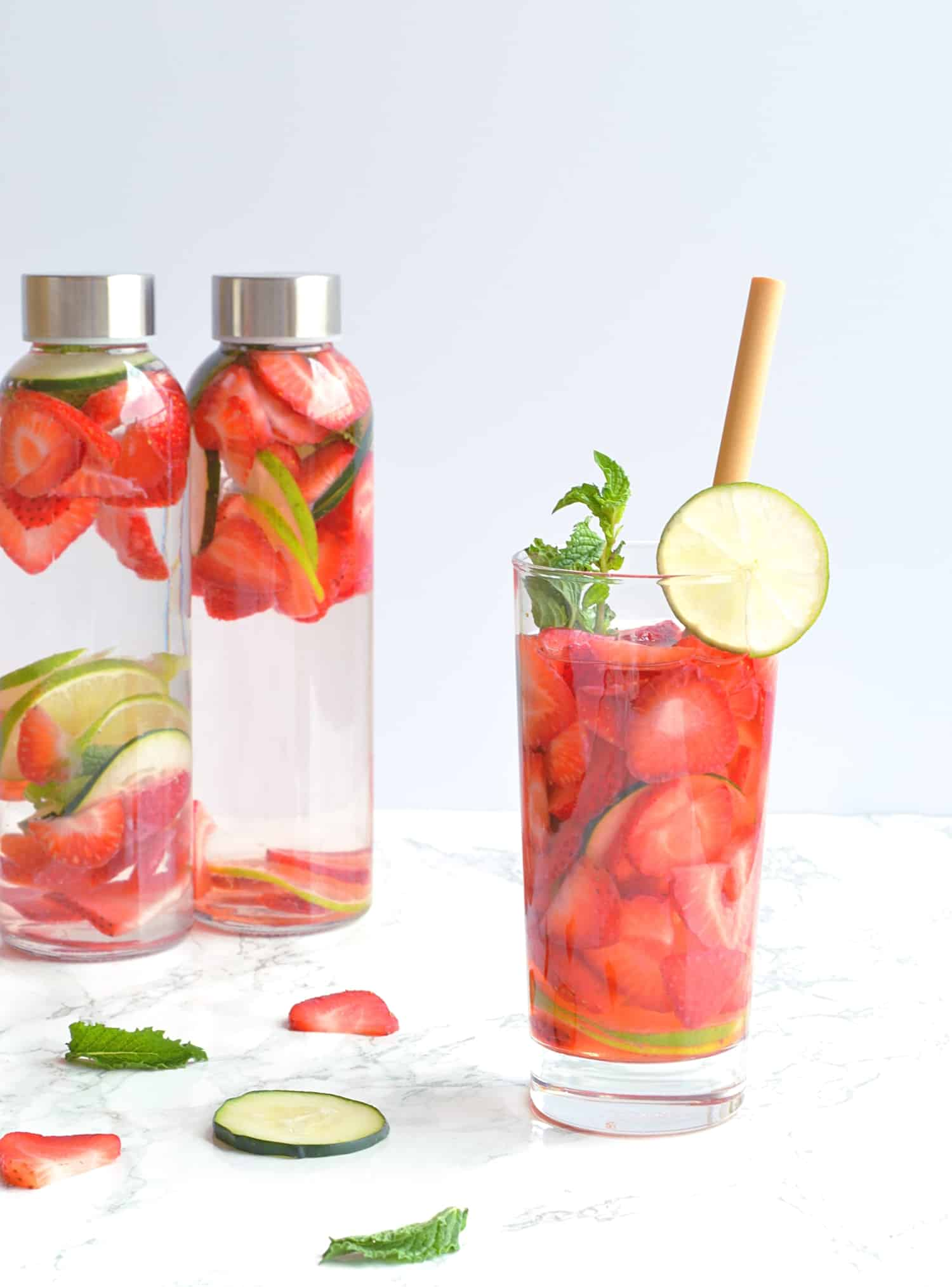 Strawberry Detox Water Recipe