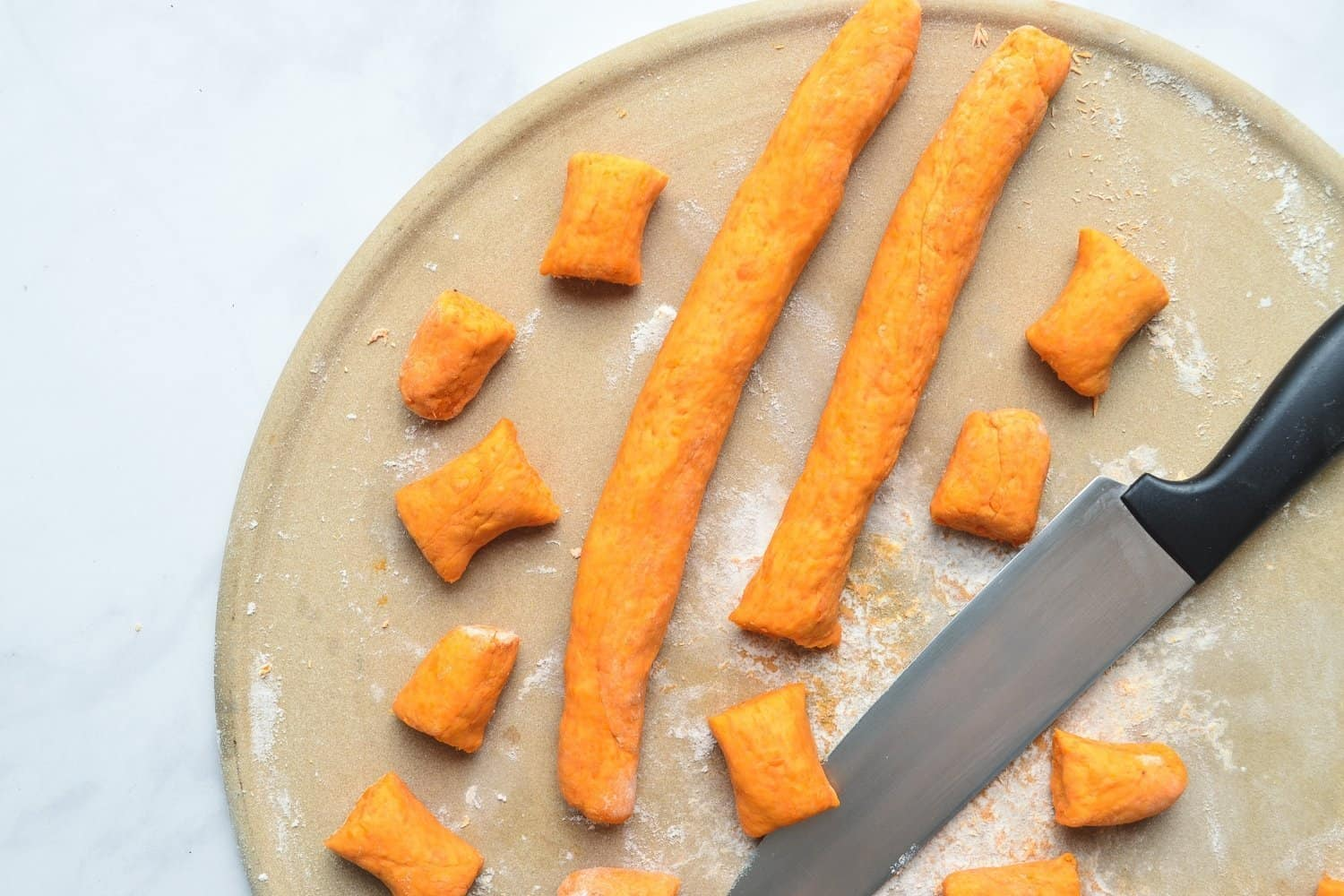 Roll and Cut Sweet Potato Gnocchi