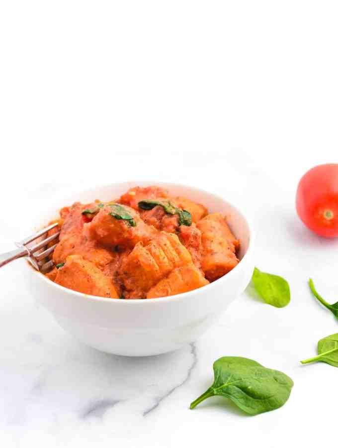 Vegan Sweet Potato Gnocchi