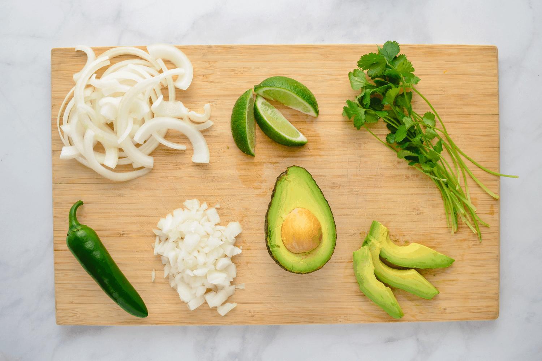 prep taco ingredients