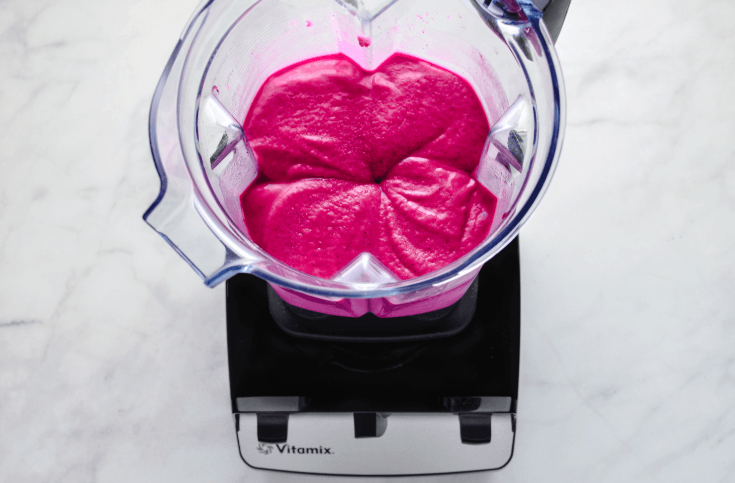 Vitamix creates thick and creamy pitaya ice cream