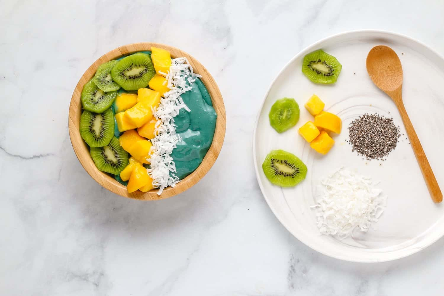 add smoothie bowl toppings