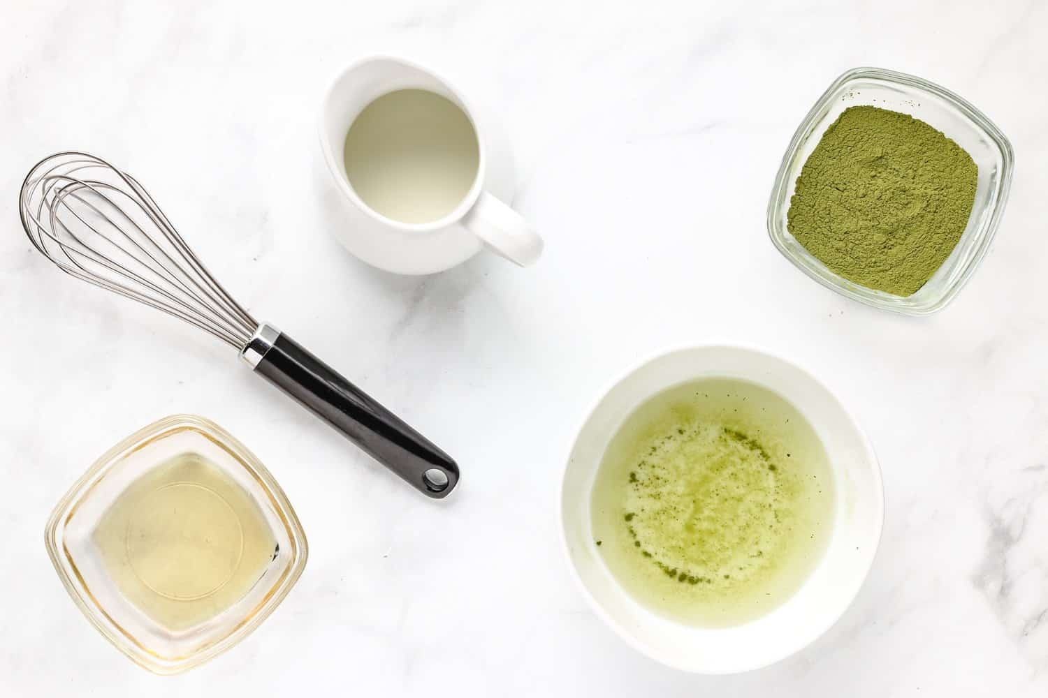matcha bubble tea ingredients