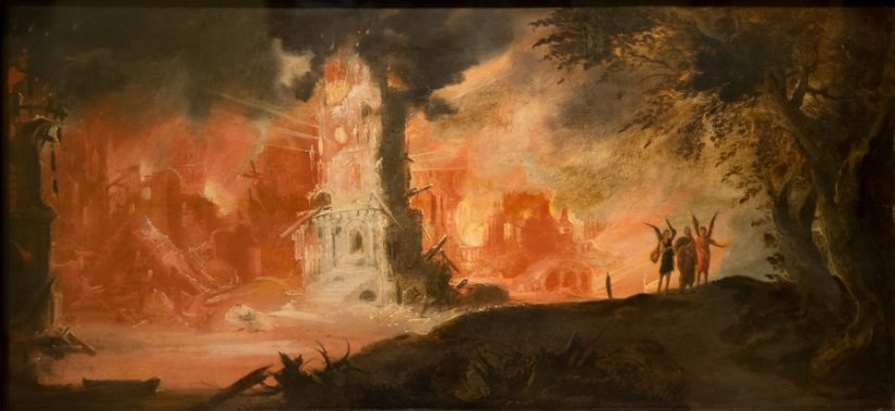 Image result for the destruction of sodom