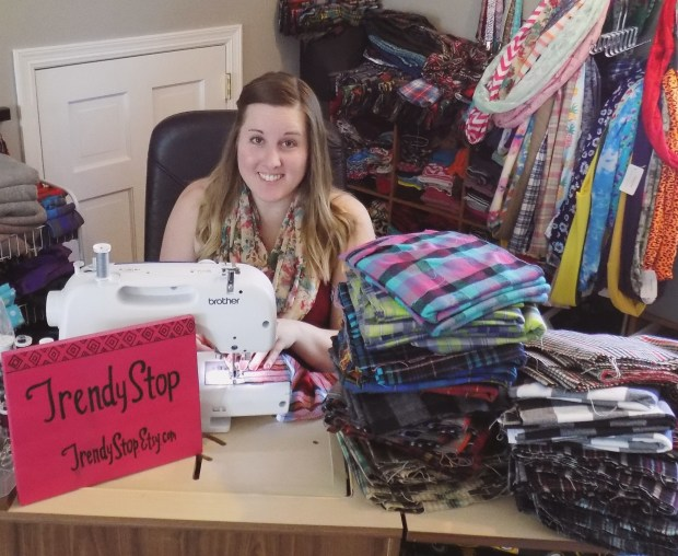 Meet Hannah Moore: Maker of Handmade Scarves, Head Wraps