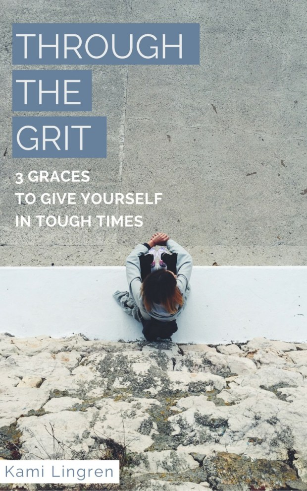 Going through a hard time? Get this free resource: 3 Graces to Give Yourself In Tough Times. Encouragement for the weary soul. <3