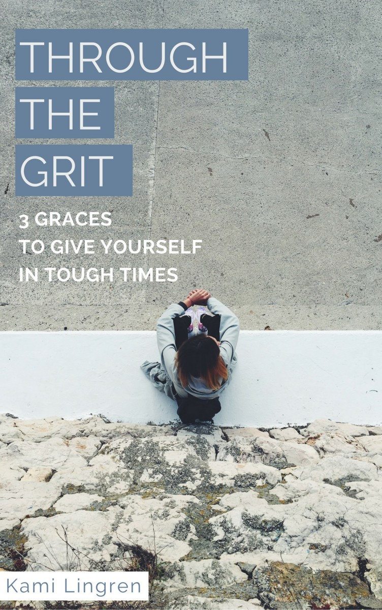 Going through a hard time? Get this free resource: 3 Graces to Give Yourself In Tough Times. Encouragement for the weary soul.