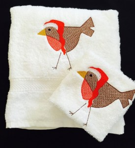 Aren't these towels from Mandi Moo Logos adorable? See more items from the online marketplace, Conscious Crafties!