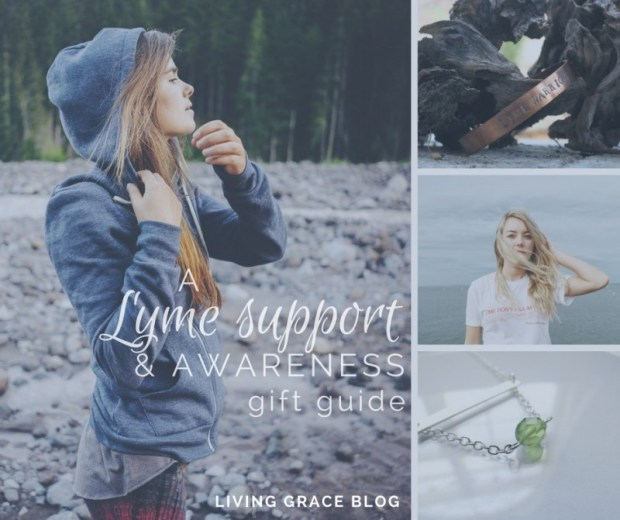 Shop the Lyme gift guide for apparel & accessories that spread hope & awareness! Click for more.