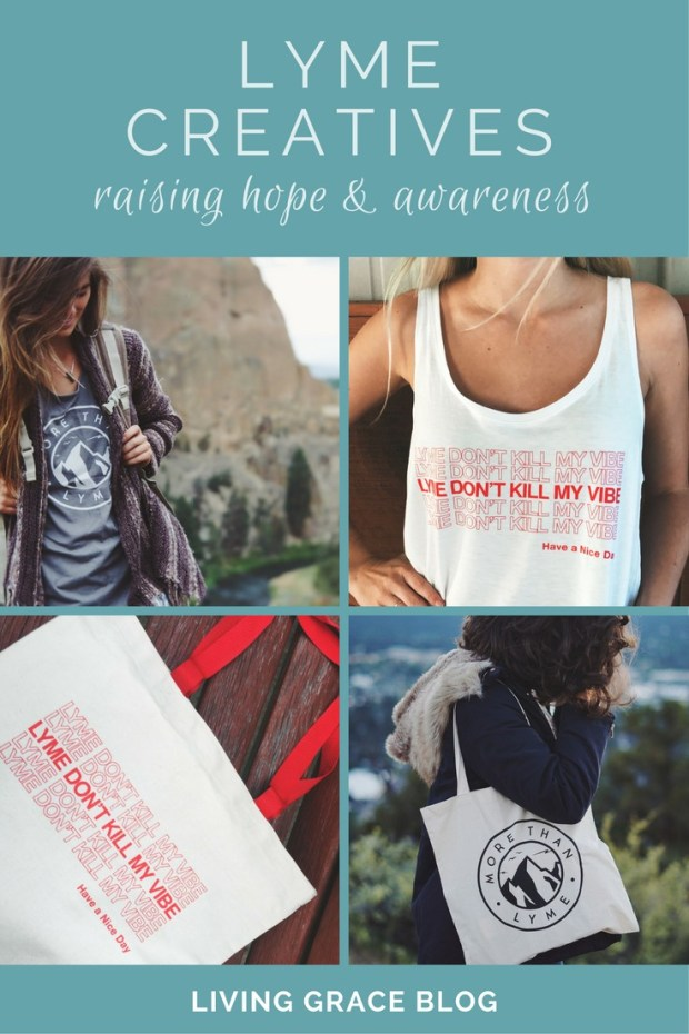 Lyme Creatives Gift Guide for spreading Lyme disease awareness and support! Click to shop items created BY women healing from Lyme FOR others also healing!