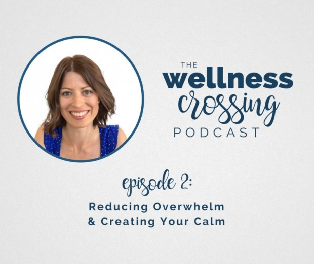 Feel like overwhelm has become your baseline? That used to be me, too. But I now have tools that help support me back to a state of calm. And I'm sharing them on the podcast today! Click to listen in :)