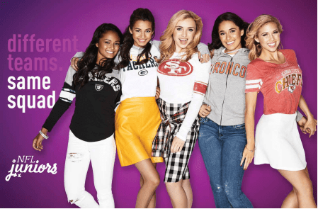NFL Women's Apparel Campaign: