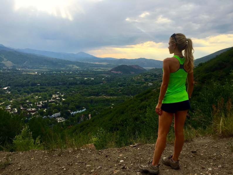 Gracie Hunt Fitness Hiking