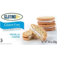 Glutino Gluten Free Dream Cookies Vanilla Creme - Low FODMAP