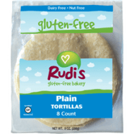 Rudi's Plain Tortillas - Low FODMAP